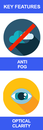 Anti Fog Coating Icons
