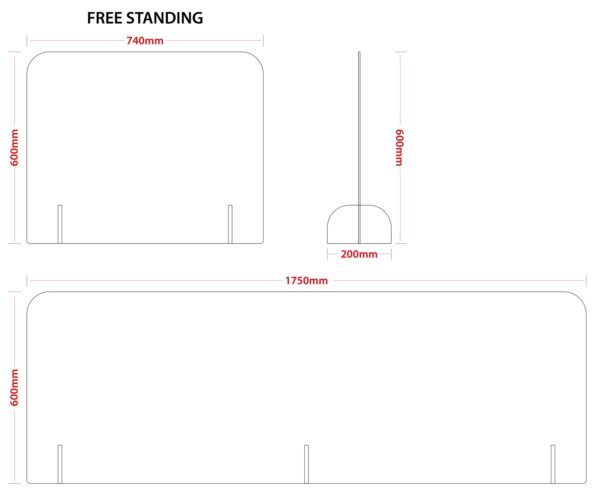 Office Divider Dimensions